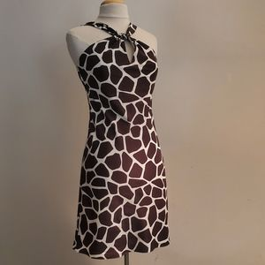 Banana Republic Giraffe Print Dress
